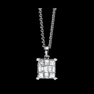Brogle Selection Halskette mit Anhänger Illusion 4C428W8-1
