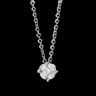 Brogle Selection Halskette mit Anhänger Illusion 4C462W8-1