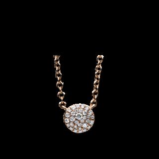 Brogle Selection Halskette mit Anhänger Illusion 4C540R4-3