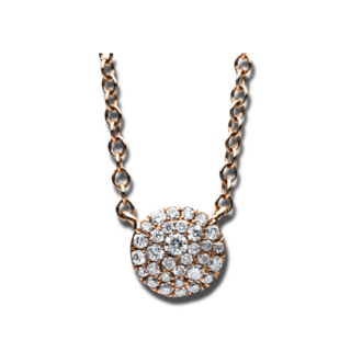 Brogle Selection Halskette mit Anhänger Illusion 4C540R8-8