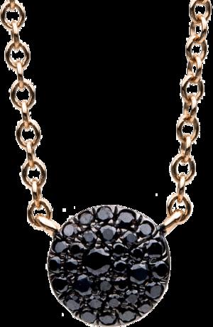 Halskette mit Anhänger Brogle Selection Illusion aus 750 Roségold mit 32 Brillanten (0,15 Karat)