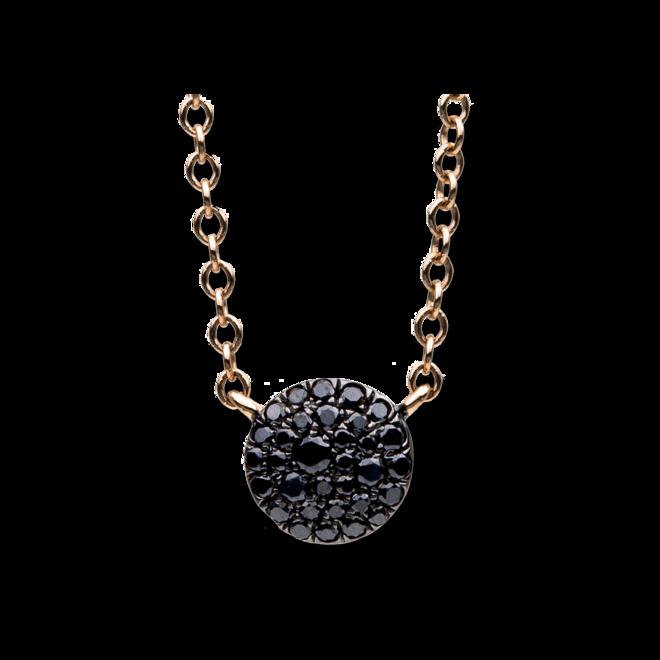 Halskette mit Anhänger Brogle Selection Illusion aus 750 Roségold mit 32 Brillanten (0,15 Karat) bei Brogle