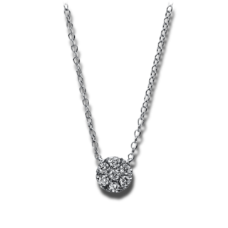 Brogle Selection Halskette mit Anhänger Illusion 4C936W8-1
