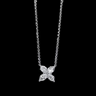 Brogle Selection Halskette mit Anhänger Illusion 4D069W8-6
