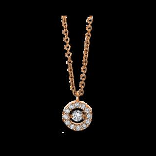 Brogle Selection Halskette mit Anhänger Illusion 4D381R8-2