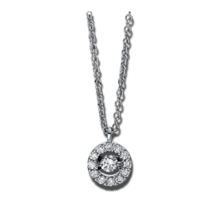 Brogle Selection Halskette mit Anhänger Illusion 4D381W8-6