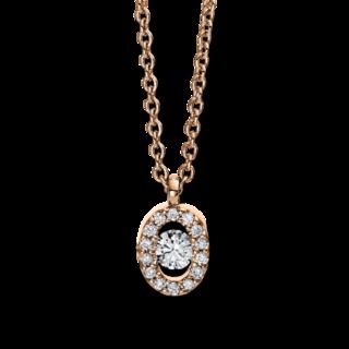 Brogle Selection Halskette mit Anhänger Illusion 4D382R8-1