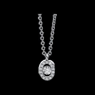 Brogle Selection Halskette mit Anhänger Illusion 4D382W8-6