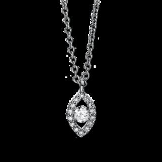 Brogle Selection Halskette mit Anhänger Illusion 4D383W4-1