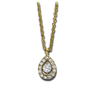 Brogle Selection Halskette mit Anhänger Illusion 4D385G4-1
