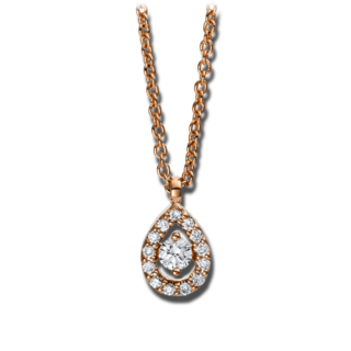 Brogle Selection Halskette mit Anhänger Illusion 4D385R8-2