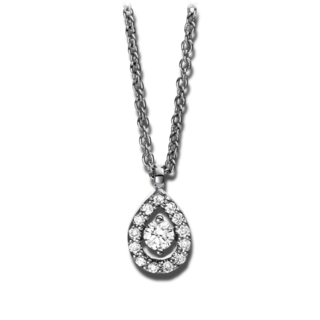 Brogle Selection Halskette mit Anhänger Illusion 4D385W8-3