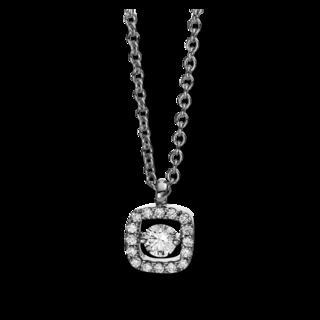 Brogle Selection Halskette mit Anhänger Illusion 4D386W8-3