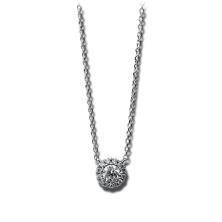 Brogle Selection Halskette mit Anhänger Illusion 4D754W8-2