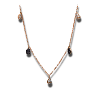 Brogle Selection Halskette mit Anhänger Illusion 4D782R8-2