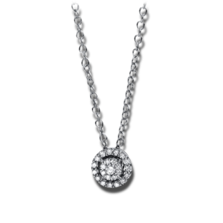 Brogle Selection Halskette mit Anhänger Illusion 4D936W8-11