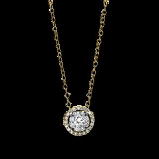 Brogle Selection Halskette mit Anhänger Illusion 4D938GW4-1