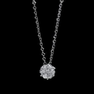 Brogle Selection Halskette mit Anhänger Illusion 4D942W8-1