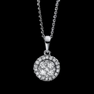 Brogle Selection Halskette mit Anhänger Illusion 4E103W8-3