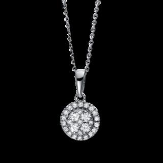 Brogle Selection Halskette mit Anhänger Illusion 4E104W8-4
