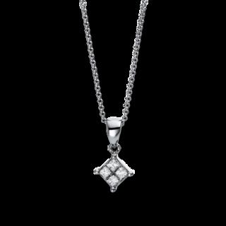 Brogle Selection Halskette mit Anhänger Illusion 4E139W8-1