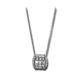 Brogle Selection Halskette mit Anhänger Illusion 4E143W8-1