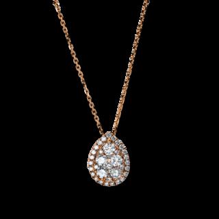 Brogle Selection Halskette mit Anhänger Illusion 4E152R8-1