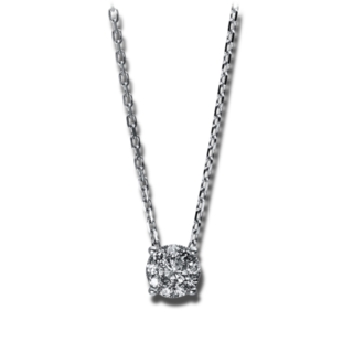Brogle Selection Halskette mit Anhänger Illusion 4E161W8-1