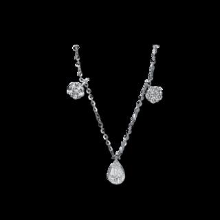 Brogle Selection Halskette mit Anhänger Illusion 4E184W8-1
