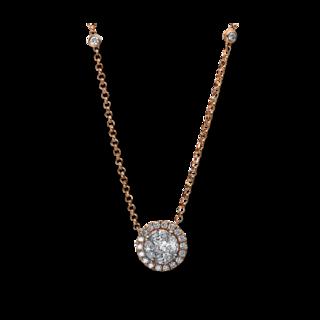 Brogle Selection Halskette mit Anhänger Illusion 4E309R8-1