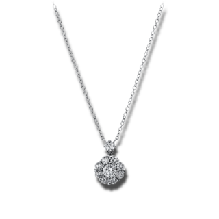 Brogle Selection Halskette mit Anhänger Illusion 4E322W8-1
