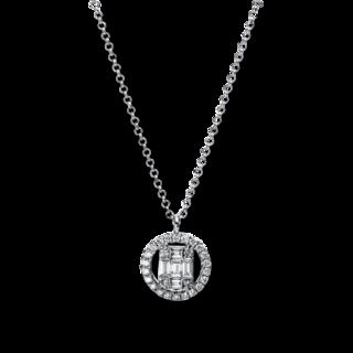 Brogle Selection Halskette mit Anhänger Illusion 4E324W8-1