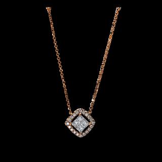 Brogle Selection Halskette mit Anhänger Illusion 4E339R8-1