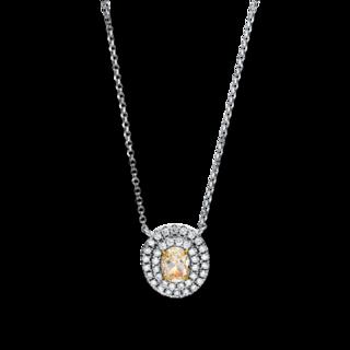 Brogle Selection Halskette mit Anhänger Illusion 4E341W8-2