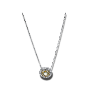 Brogle Selection Halskette mit Anhänger Illusion 4E359WG8-1
