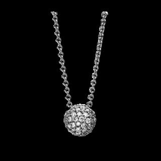 Brogle Selection Halskette mit Anhänger Illusion 4E493W8-1