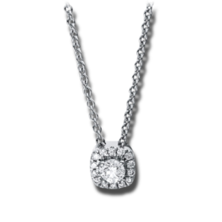 Brogle Selection Halskette mit Anhänger Illusion 4E530W8-1