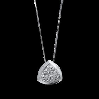 Brogle Selection Halskette mit Anhänger Illusion 4E540W8-1