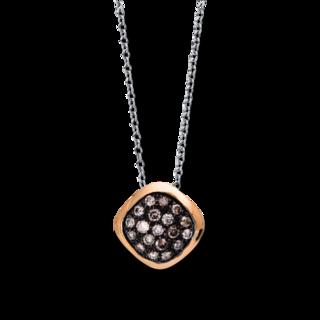 Brogle Selection Halskette mit Anhänger Illusion 4E543WR8-1