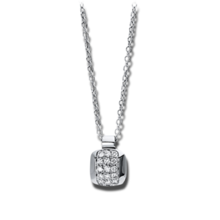 Brogle Selection Halskette mit Anhänger Illusion 4E544W8-1