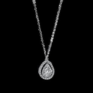 Brogle Selection Halskette mit Anhänger Illusion 4E763W8-1