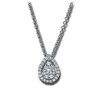 Brogle Selection Halskette mit Anhänger Illusion 4E918W8-1
