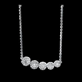 Brogle Selection Halskette mit Anhänger Illusion 4F059W8-1