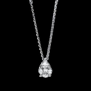 Brogle Selection Halskette mit Anhänger Illusion 4F081W8-1