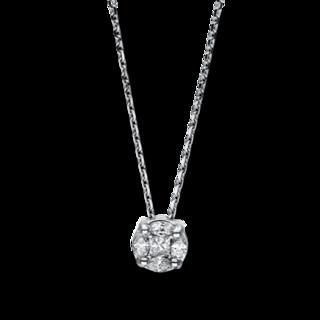 Brogle Selection Halskette mit Anhänger Illusion 4F082W8-1