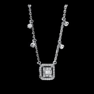 Brogle Selection Halskette mit Anhänger Illusion 4F099W8-1