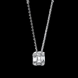 Brogle Selection Halskette mit Anhänger Illusion 4F112W8-1