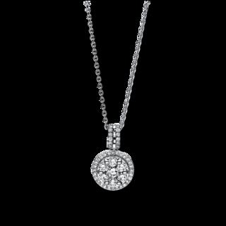 Brogle Selection Halskette mit Anhänger Illusion 4F115W8-1