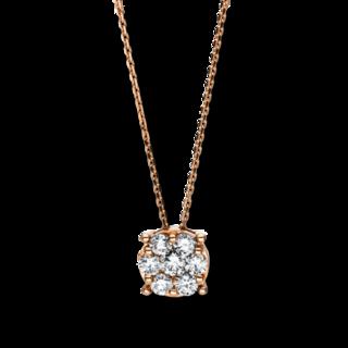 Brogle Selection Halskette mit Anhänger Illusion 4F117R8-1