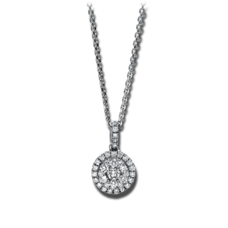 Brogle Selection Halskette mit Anhänger Illusion 4F121W8-1